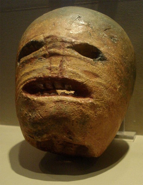 Who can tell me what this macabre item is? Hint: You might not know it, but you'd recognize its younger brother.