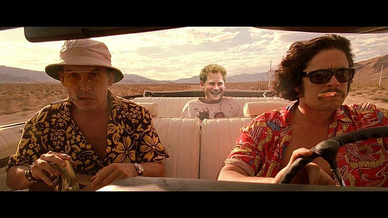 Careful. In the desert outside Barstow, nobody's a royalist but the bats. They might want you for their king, Harry.