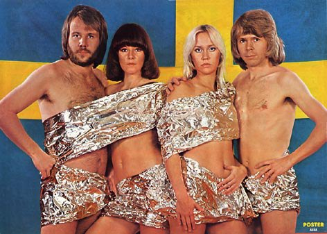 I like Abba more that most straight guys do. Still, I think they overestimated how cool this was going to look by a smidge.