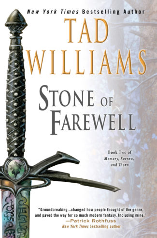 Stone of Farewell: The new US trade paperback edition with new artwork by Michael Whelan
