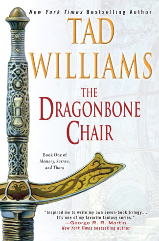 The Dragonbone Chair: The new US trade paperback edition with new artwork by Michael Whelan