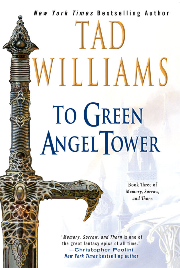 To Green Angel Tower:: The new US trade paperback edition with new artwork by Michael Whelan
